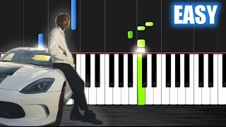 Wiz Khalifa - See You Again - EASY Piano Tutorial by PlutaX - Synthesia