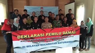 preview picture of video 'DEKLARASI DAMAI PEMILU Batumandi Balangan'