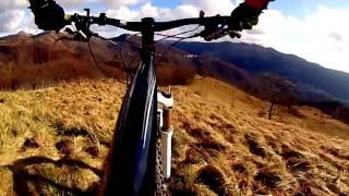 preview picture of video 'MTB Bric della croce Marzano Torriglia 18.01.15 GoPro'