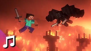 ♪ The Fat Rat   Stronger (Minecraft Animation) [Music Video]
