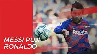 Lionel Messi Puji Penampilan Cristiano Ronaldo di Juventus