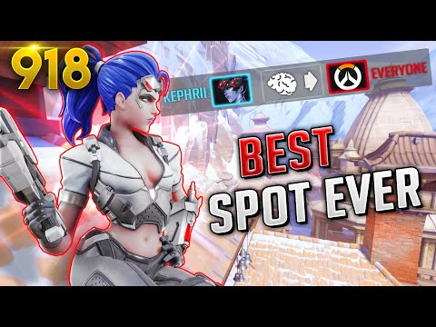 Kephrii FOUND The *BEST* WIDOW SPOT!! | Overwatch Daily Moments Ep. 918 (Funny and Random Moments)