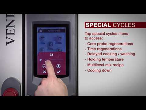 Ovens Series Venexia - Special Cycles