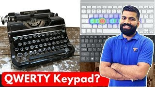 QWERTY Keypad? Best layout? Why QWERTY Keyboard? DVORAK?