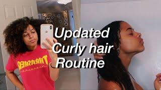 2018 Updated Curly Hair Routine | Azlia Williams