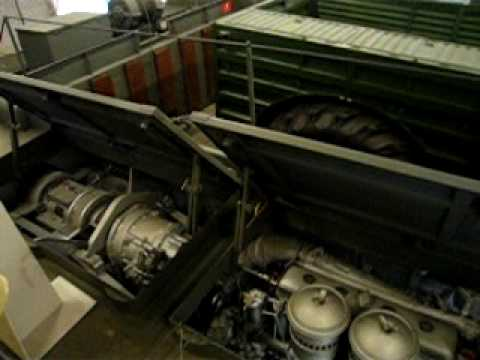 Geluid van startende motor in Marshall Museum