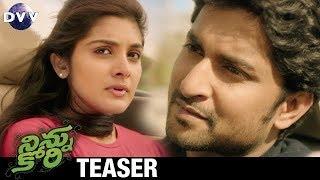 Ninnu Kori Telugu Movie Teaser