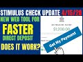 Stimulus Check Update: IRS Get My Payment WORKS?