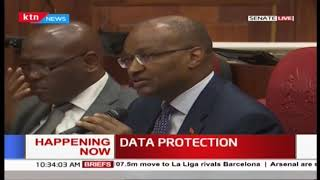Data Protection: CBK Governor present as top ministry officials appear before senate