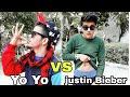 Yo Yo honey singh VS justin Bieber 😎 funny video must watch