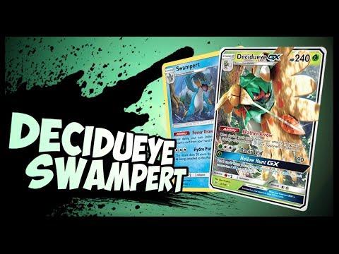 Decidueye / Swampert – Pokemon TCG Online Gameplay