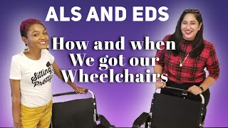 How We Decided It Was Time For a Wheelchair w/ ALS and EDS #AmbulatoryWheelchairUsersExist