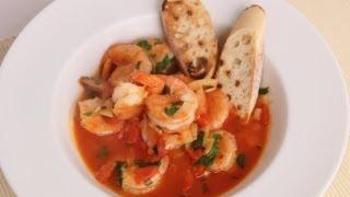 Shrimp In Crazy Water Recipe - Laura Vitale - Laura In The Kitchen Episode 507