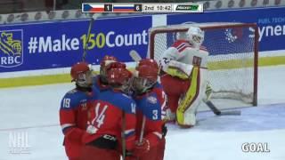Andrei Svechnikov 3G 1A vs Czech Republic   Dec 16 2016   World Junior A Challenge