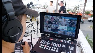 Datavideo HS-1300 Live Video Production at Cannes Lions with Microsoft
