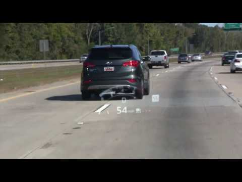 HUD System - 2016 Mazda CX-9 - Testing the Heads Up Display