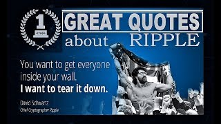 BEST QUOTES about RIPPLE XRP