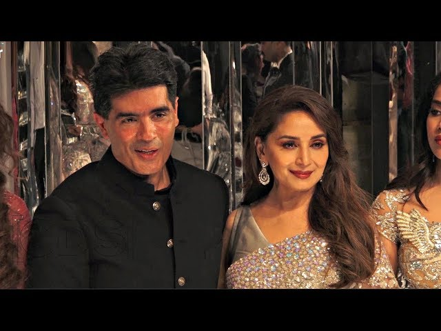 Madhuri Dixit At Manish Malhotra Fashion Show 2018