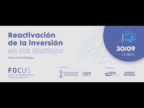 Focus Pyme Reactivación de la inversión en Startups[;;;][;;;]