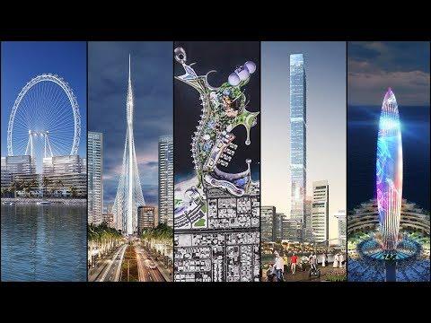 ⎲ ⎳⎲ ⎳⎲ ⎳ ВИДЕО: Топ 5 мега проекти в Дубай, които се строят в момента.