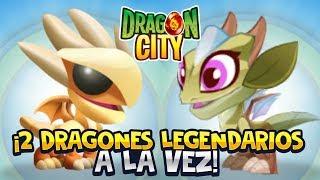 ¡2 DRAGONES LEGENDARIOS A LA VEZ! ⭐️ Dragon City | iTownGamePlay