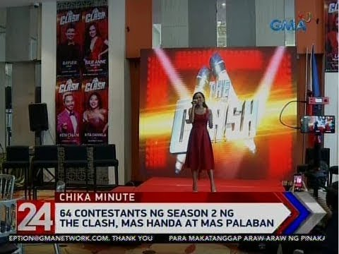 "[GMA]  24 Oras: 64 contestants ng Season 2 ng ""The Clash,"" mas handa at mas palaban"