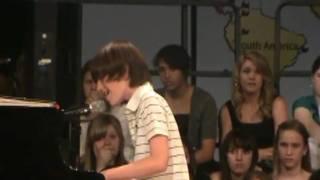 Greyson Chance Sings Paparazzi Live HD