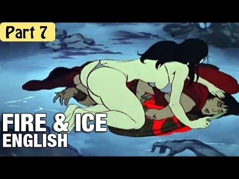 Fire & Ice - Cartoon Movie In English (1983) Part 7