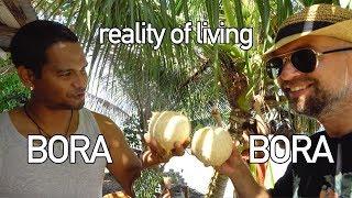 Living in Bora Bora. French Polynesia