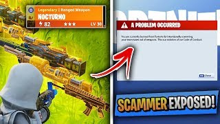 Top 5 Fortnite Scammers WHO GOT EXPOSED!