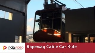 Awesome  Ropeway Cable Car Ride at Gangtok Hill Station in Sikkim