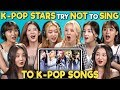 POP STARS REACT TO TRY NOT TO SING CHALLENGE (MOMOLAND  모모랜드)