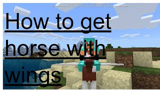 how to get a flying horse in minecraft pe - 免费在线视频最佳电影电视