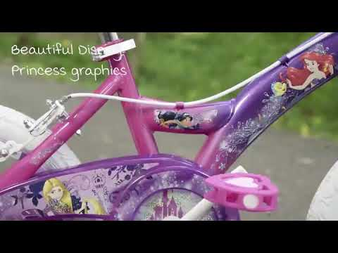 Cyber Monday Alert! Huffy Disney Princess Kid Bike 12 inch & 16 inch, Quick Connect Assembly
