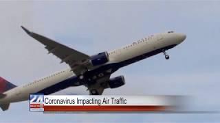 Coronavirus Impacting Air Traffic
