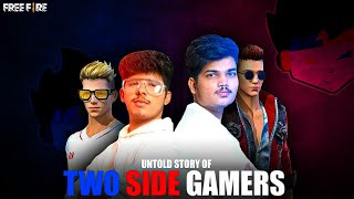 THE UNTOLD STORY JASH & RITIK ||TWO SIDE GAMERS || SHORT FILM 🎥 || BIOGRAPHY OF TSG || FREE FIRE 🔥