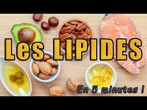 Les LIPIDES (en 5 minutes)