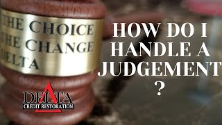 How to Handle a Judgement Against You//Delta Credit Tip