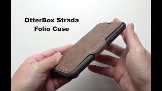 OtterBox Strada Series Folio Case for iPhone X