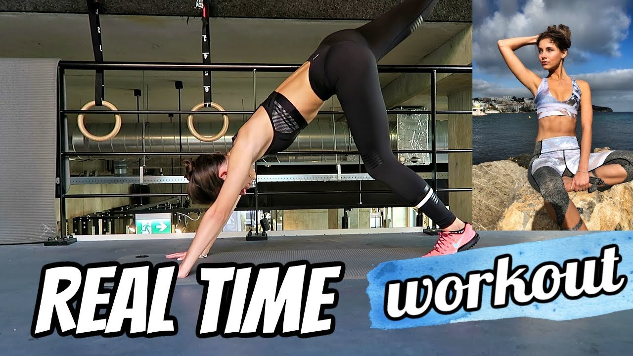 Real time model workout