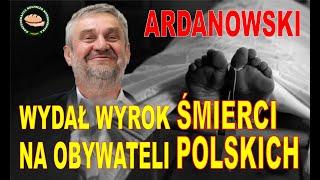 Wyrok śmierci na obywatelach Polskich! WSTYD ministrze Ardanowski