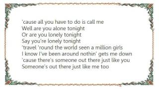 Cheap Trick - Are You Lonely Tonight Lyrics
