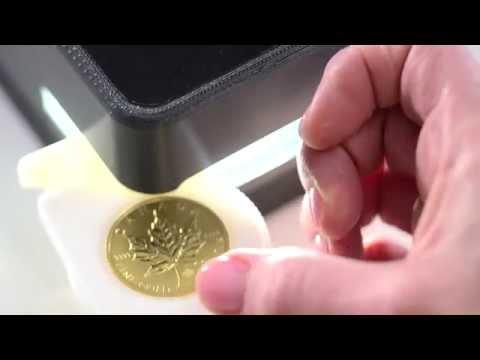 Feuille d'érable en or - Monnaie royale canadienne