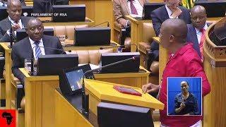 "Julius Malema Telling Ramaphosa He Is ""A Shrewd Business Man"""