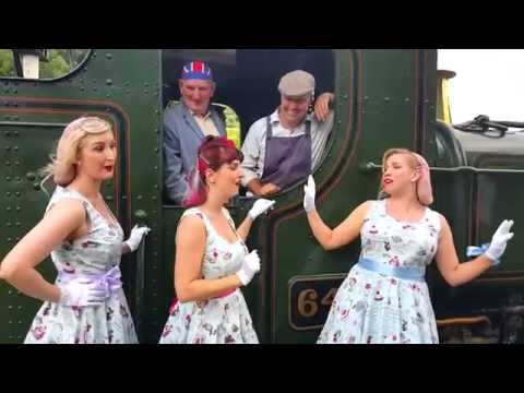 The Candy Girls sing Chattanooga Choo Choo during the South …