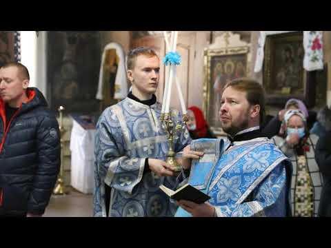 Митрополит Даниил совершил всенощное бдение в Введенском храме села Введенское