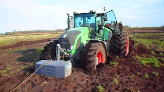 Fendt 939 Vario + TopDown 500 stuck, saving with JCB 535