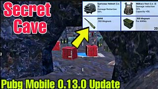 Pubg Mobile 0.13.0 Update Secret Trick || Location For Find AWM and level 3 loot Without Air Drop