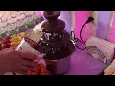 Cómo usar una fuente de chocolate/FABI CEA