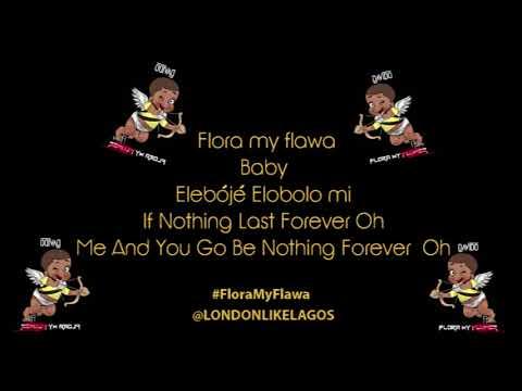 DAVIDO | FLORA MY FLAWA | LYRICS VIDEO